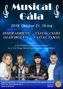 Musical Gála plakát